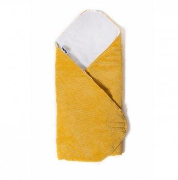 Конверт-плед Twins Velvet 9015-TW-05 желтый 80х80 см