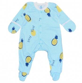 Человечек для новорожденного Minikin I Like 0-3 месяца Голубой 2010603