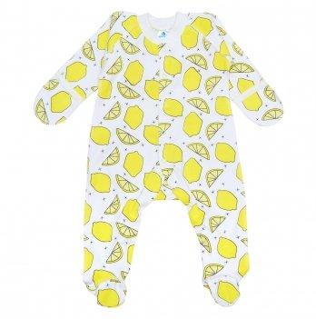 Человечек для новорожденного Minikin I Like 0-3 месяца Желтый 2010603