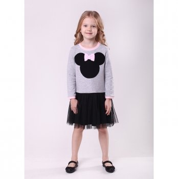 Детское платье Vidoli Серый G-19837W-1