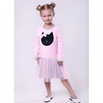Детское платье Vidoli Розовый G-19838W-1