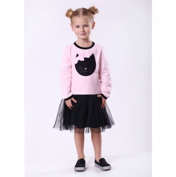 Детское платье Vidoli Розовый G-19839W-1