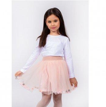 Детская юбка Vidoli Персиковый G-19840W