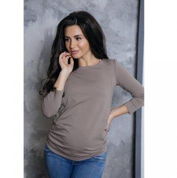 Джемпер для беременных и кормящих To Be Мокко 4015022