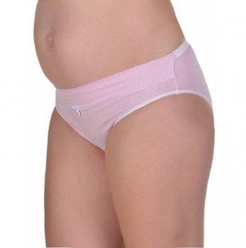Трусики MammaLux для беременных под животик 202, розовые