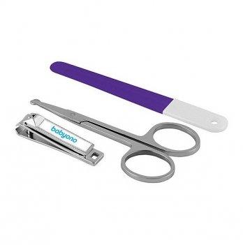 Маникюрный набор для младенцев BabyOno фиолетовый