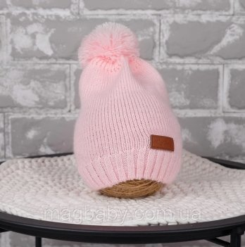 Вязаная шапочка Lucky Magbaby Розовый