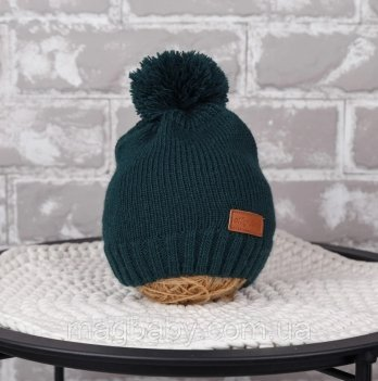 Вязаная шапочка Lucky Magbaby Зеленый