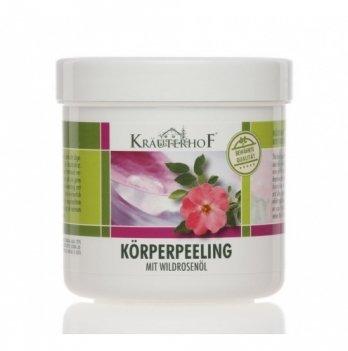 Пилинг для тела с маслом дикой розы, Krauterhof