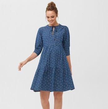 Джинсовое платье для беременных Dianora 2097