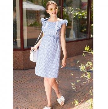 Сарафан для беременных и кормящих мам MySecret Dolly SF-29.022 бело-голубой