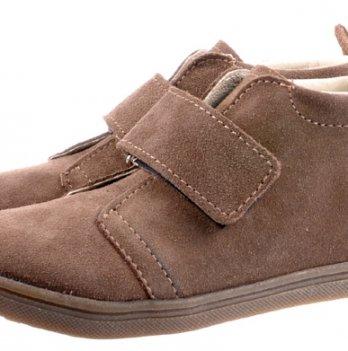 Ботинки кожаные демисезонные Mrugala коричневые