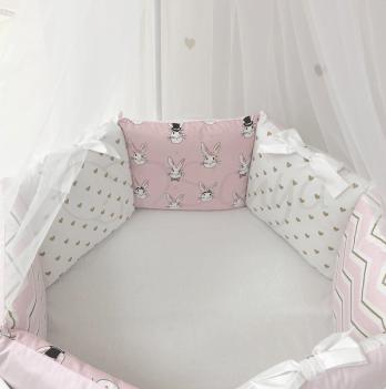 Комплект постельного белья Shine Алиса Маленькая Соня 0247233 розовый 6 предметов