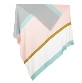 Плед Blankee Stripe Pink
