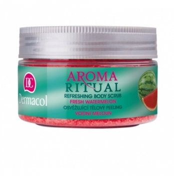 Пилинг для душа и тела мягкий Свежий арбуз Refreshing Body Scrub, Dermacol
