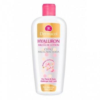 Мицеллярная вода для очистки и снятия макияжа с гиалуроновой кислотой Micellar Lotion, Dermacol