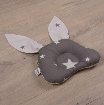 Ортопедическая подушка для новорожденных Бетис День-Ночь Серый