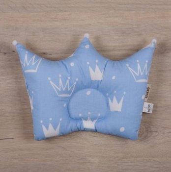 Ортопедическая подушка для новорожденных Бетис Королевский Сон Голубой