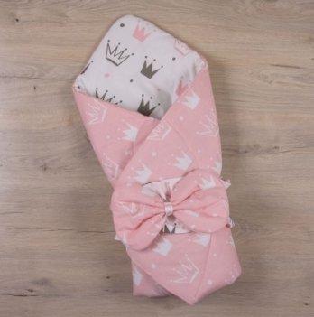 Демисезонный конверт-одеяло весна осень Бетис Королевский Сон Розовый