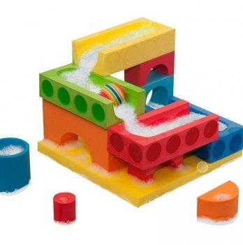 Набор плавающих блоков для ванны Just Think Toys, Подвижный Мяч & Водопад