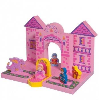 Набор плавающих блоков для ванны Just Think Toys, Замок принцессы