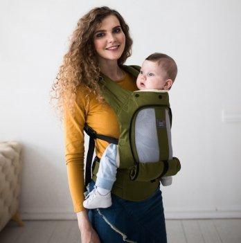 Эрго-рюкзак Love & Carry AIR Олива