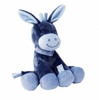 Мягкая игрушка Nattou, ослик Алекс, 34см