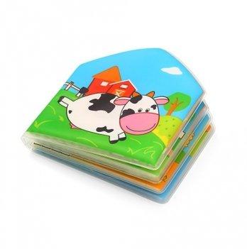 Мягкая книжка для ванной с пищалкой BabyOno, Ферма