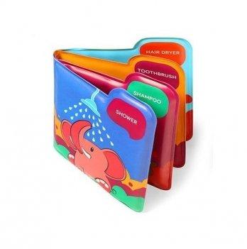Мягкая книжка с пищалкой BabyOno Bath Time