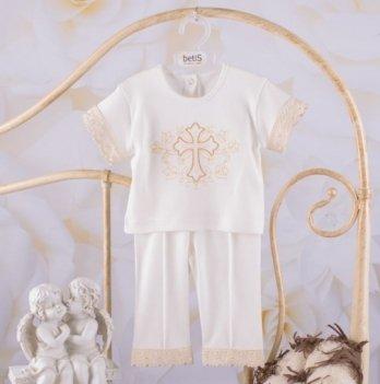 Костюм Чарівний янгол короткий рукав Бетис 27681523 молочно-золотой