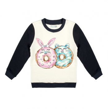 Свитшот Sauva Ge, Пончики