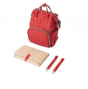 Рюкзак для коляски Canpol babies Lady Mum Красный 50/101