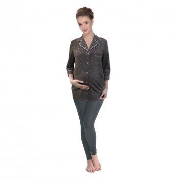 Пижама для беременных и кормящих Мамин Дом, Nut/leggings