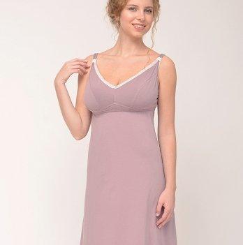 Ночная рубашка для беременных и кормящих Be elegant DREAMY Мамин дом 24162