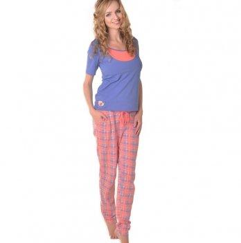 Пижама для беременных и кормящих Мамин дом Glory, 24171