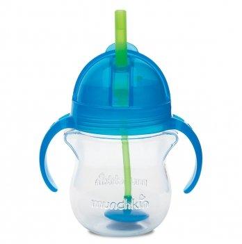 Бутылочка-непроливайка Tip & Sip Munchkin голубой 207 мл.