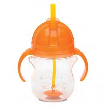 Бутылочка-непроливайка Tip & Sip Munchkin оранжевый 207 мл.