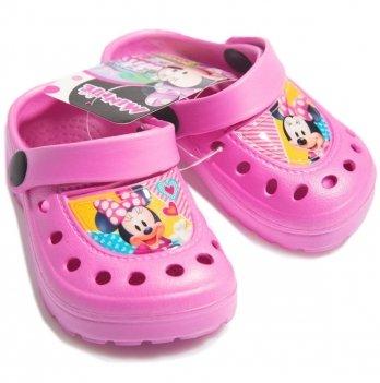 Сабо Disney Минни Маус (Minnie), розовые