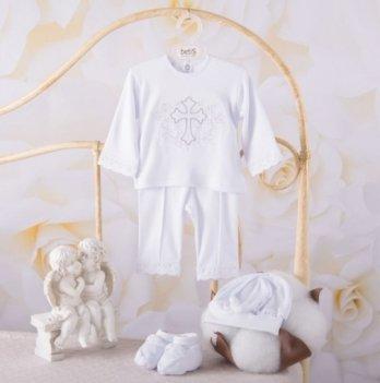 Костюм Чарівний янгол длинный рукав Бетис 27681806 бело-серебристый