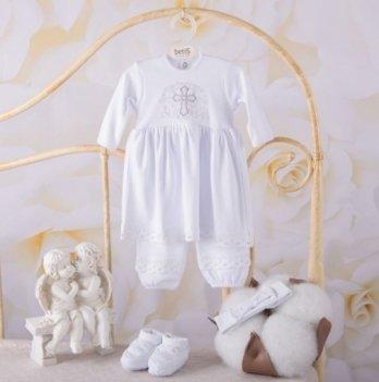 Костюм Чарівний янгол длинный рукав Бетис 27681814 бело-серебристый
