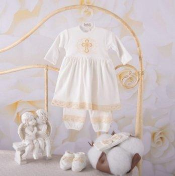 Костюм Чарівний янгол длинный рукав Бетис 27681813 молочно-золотой