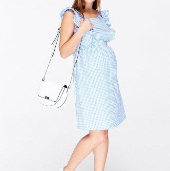 Сарафан для беременных и кормящих мам MySecret Dolly SF-29.022 бело-голубой Размер XL