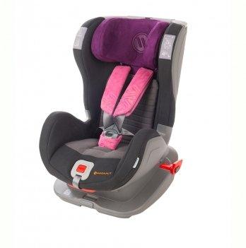 Детское автокресло Avionaut Glider Softy (гр.1-2), Black/purple