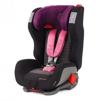 Детское автокресло Avionaut Evolvair Softy (гр.1-2-3), Black/Purple