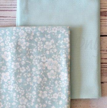 Подарочный набор пеленок Маленькая Соня Жаккард мята, 2 шт.