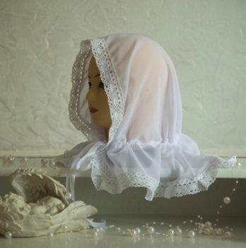 Палантин для взрослых Бетис Вдохновение Белый 27682556 80х120 см
