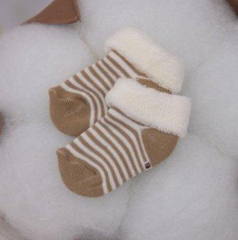 Носочки для малышей Бетис махровые, 1029, цвет кофейный