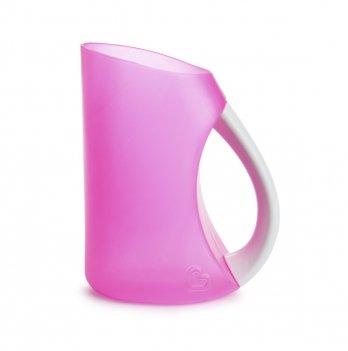 Мягкий кувшин-ополаскиватель для мытья волос, Munchkin, розовый