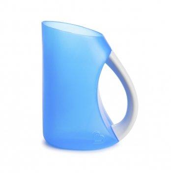 Мягкий кувшин-ополаскиватель для мытья волос, Munchkin, голубой