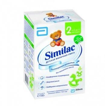 Заменитель грудного молока Abbott Labaratories Similac 2, 700 г